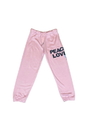 Flowers by Zoe Peace Love Sweatpants - Product Mini Image