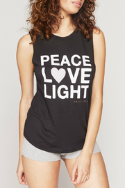 Spiritual Gangster  Peace Muscle Tank - Front cropped
