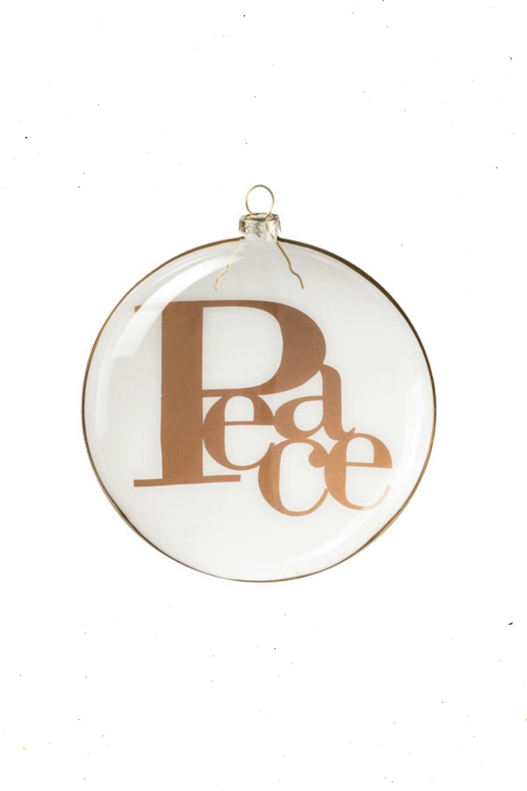 Sullivans Peace Ornament - Front Cropped Image