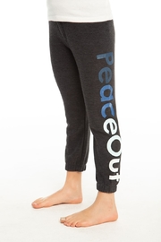 Chaser Peace out sweatpants - Front cropped