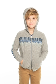 Chaser Peace out zip up hoodie - Front full body