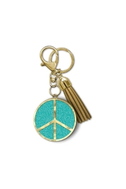 Lady Jayne Peace Sign Keychain - Front cropped