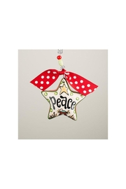 Glory Haus Peace Star Ornament - Product Mini Image