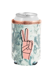 Talking Out Of Turn Peace Velvet Can Cooler - Product Mini Image