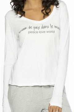 Peace Love World Alina Long Sleeve - Alternate List Image