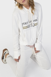 Peace Love World Steph Pullover - Front full body