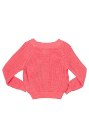 Rock Your Baby Peach Baby Cardigan - Front full body