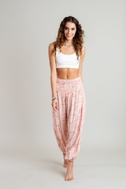 Lotus and Luna Peach Beach Pants - Product Mini Image
