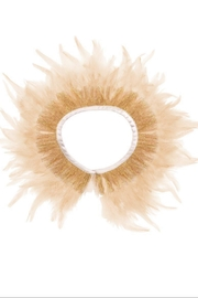Meri Meri Peach Feather Capelet - Product Mini Image