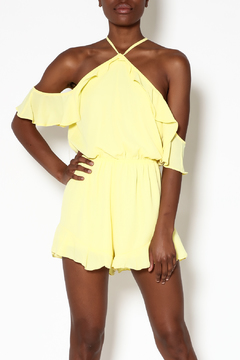 Peach Love California Light Yellow Romper - Product List Image