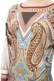 peach puff Paisley Dress - Other