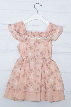 cesar blanco Peach Starfish Dress - Alternate List Image