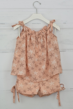 cesar blanco Peach Starfish Outfit - Product List Image