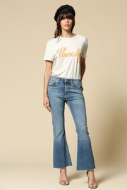 By Together Peach Tee - Front cropped