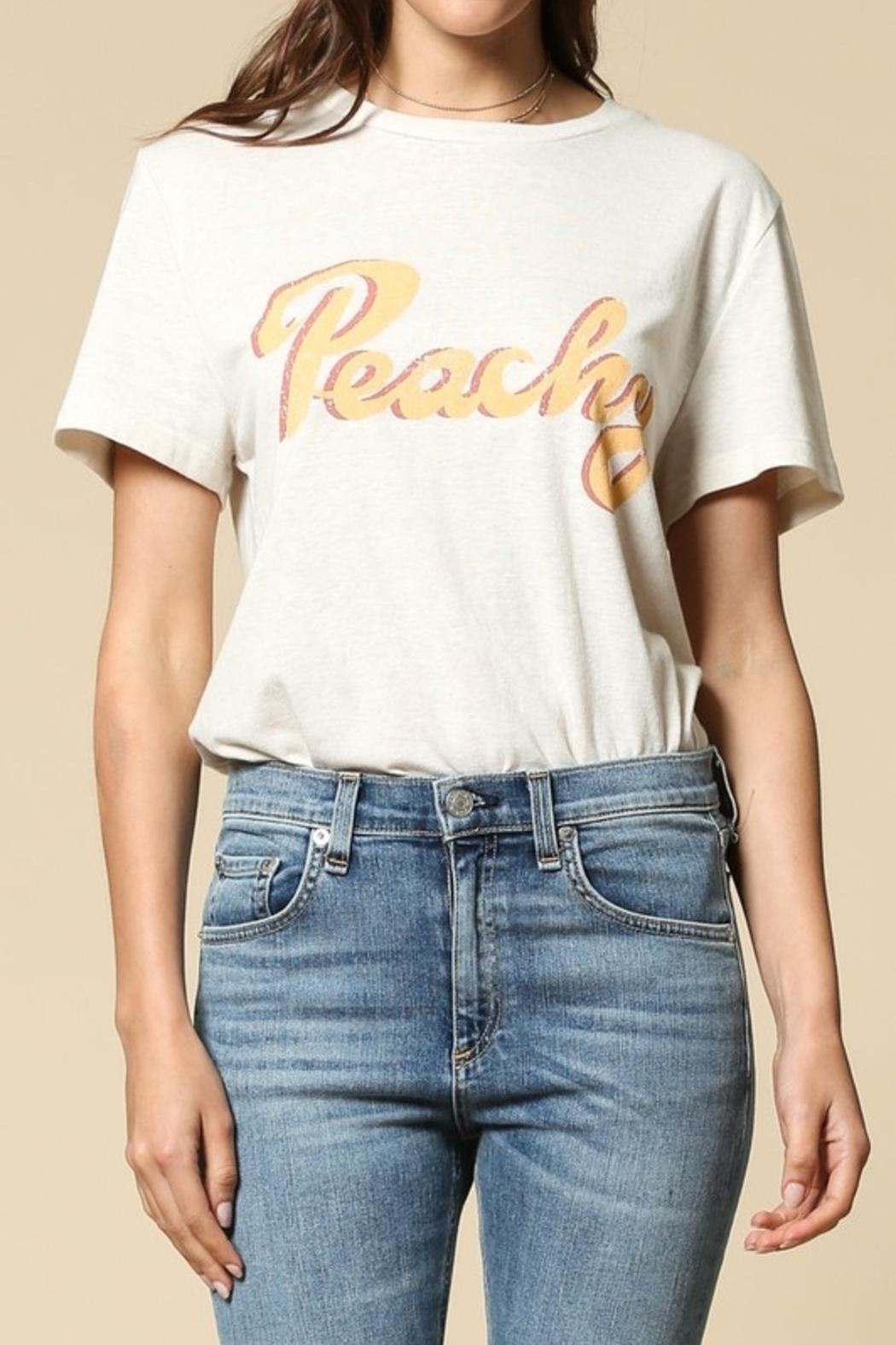 By Together Peach Tee - Front Full Image