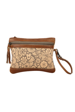 Shoptiques Product: Peach Wristlet