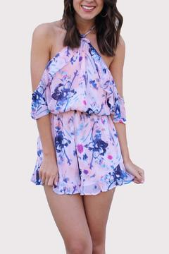 Shoptiques Product: Blush Ruffle Romper