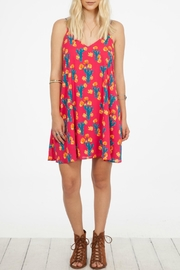 Peach Love California Cactus Day Dress - Product Mini Image