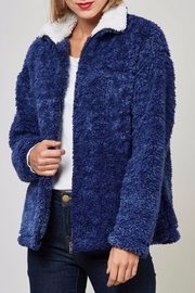 Peach Love California Faux Sherpa Jacket - Other
