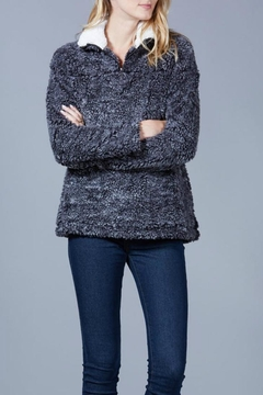 Shoptiques Product: Faux Sherpa Pullover Top