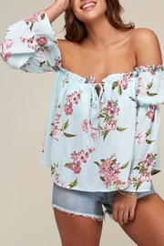 Peach Love California Flower Top - Product Mini Image
