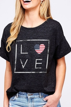 Peach Love California Love Graphic Tee - Alternate List Image