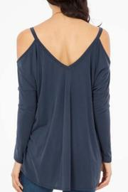 Peach Love California Open Shoulder Top - Side cropped