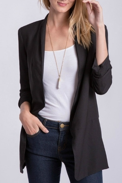 Shoptiques Product: Three Quarter Sleeve Blazer