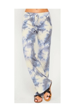 Peach Love California Tie Dye Sweatpants - Product List Image