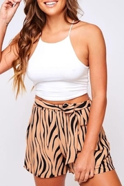 Peach Love California Tiger Shorts - Product Mini Image