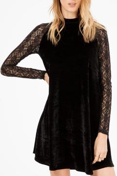 Shoptiques Product: Velvet Lace Dress