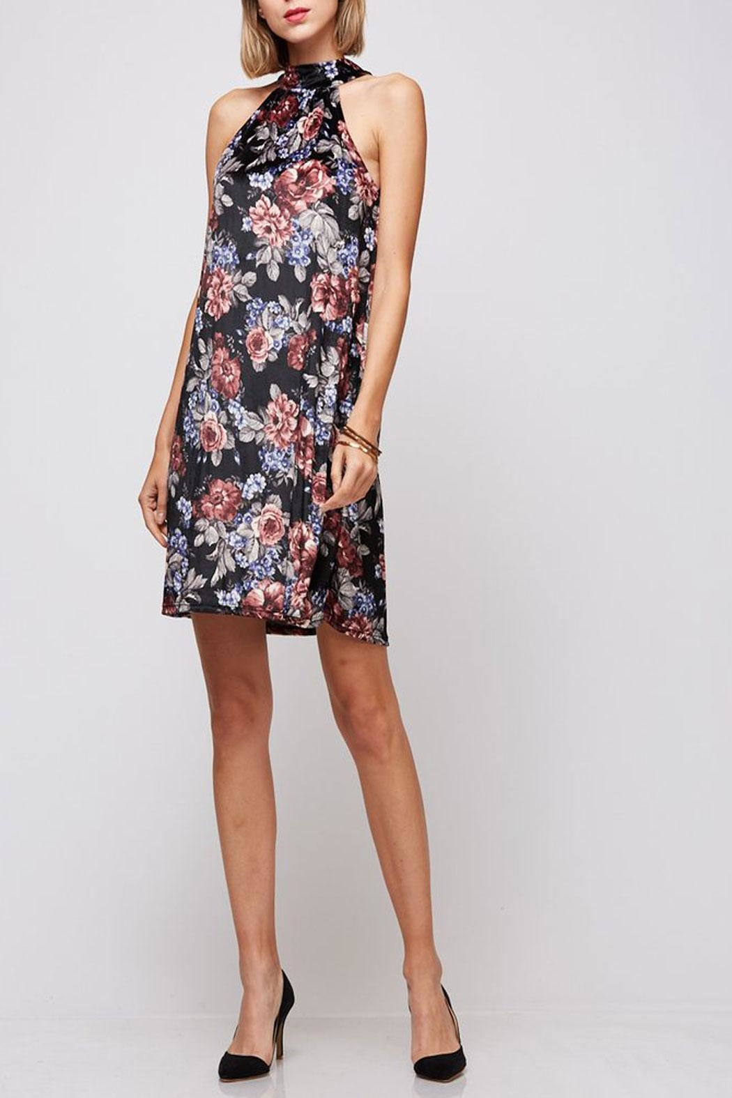 Peach Love California Yuni Floral Dress - Main Image