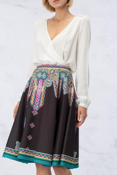 Shoptiques Product: Patterned Circle Skirt