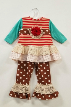 Peaches 'N Cream Gingerbread Tunic Set - Product List Image