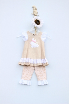 Peaches 'N Cream Bunny Tunic Set - Product List Image
