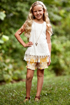 Peaches 'N Cream Girls Tunic Set - Product List Image