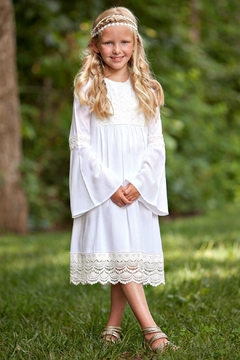 Shoptiques Product: Girls White Dress