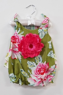 Peaches 'N Cream Infant Floral Bubble Dress - Product List Image