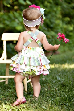 Peaches 'N Cream Infant Floral Bubble Dress - Alternate List Image