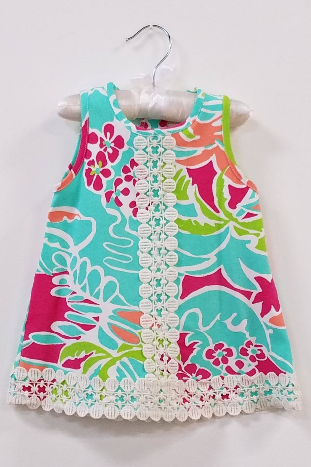 Peaches N Cream Tropical Baby Dress From South Carolina By The