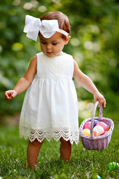 Peaches 'N Cream Infant White Dress - Alternate List Image