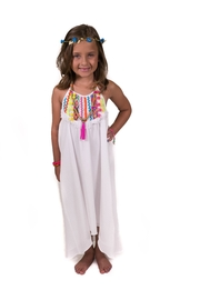 Peaches 'N Cream Ricrac Beach Dress - Product Mini Image