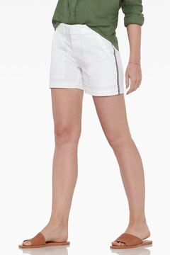 Ecru Peachtree Utility Short, White - Product List Image