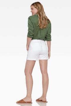 Ecru Peachtree Utility Short, White - Alternate List Image