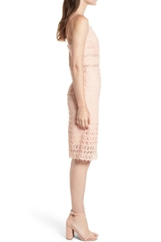 Just Me Peachy Crochet Overaly - Front full body