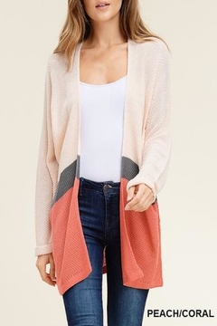 Shoptiques Product: Peachy Keen Cardigan