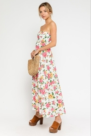 Olivaceous  Peachy Keen Maxi Dress - Front full body