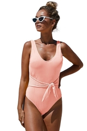 Shiying  Peachy Keen One Piece - Front cropped