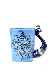 Gift Craft Peacock Coffee Mug - Front cropped