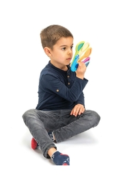 Tender Leaf Toys Peacock Colors Set - Front full body